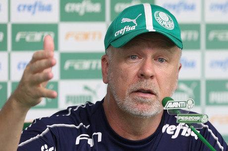 Mano Menezes tem bons números no Palmeiras