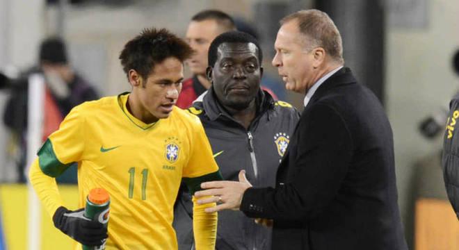 Mano Menezes foi o único técnico a não convocar Neymar por indisciplina