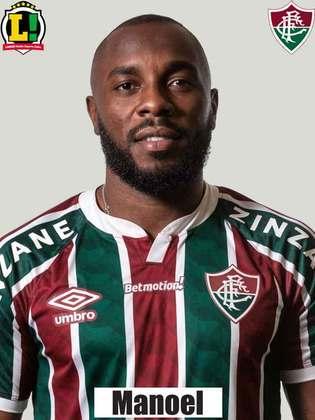 Manoel - 3,5 - Organizou jogadas nas saídas de bola, fez desvios e marcou bem o ataque adversário no primeiro tempo. No segundo, marcou gol contra e complicou a situação para o Fluminense.