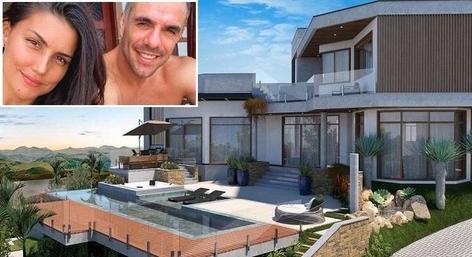 Nova casa de Daniel e Mariana vai ter cinco suítes