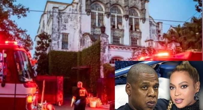 Mansão de Jay Z e Beyoncé queimou por duas horas