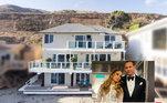 Jennifer Lopez e o noivo, o ex-jogador de beisebol Alex Rodriguez, lucraram nada menos que US$ 6,7 milhões (aproximadamente R$ 35 milhões) com a venda da mansão que possuíam em Malibu, na Califórnia