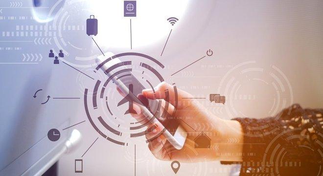 Ativer e desativar o modo avião do telefone é uma forma rápida de fazer com que seu celular volte a ter sinal