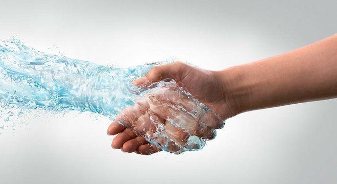 mãos suadas