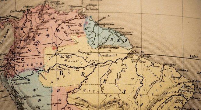 A Guiana Francesa teve ocupação e exploração econômica em escala menor que outras colônias francesas, como no Caribe