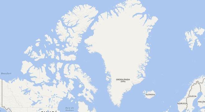 A terra plana ou redonda o google maps j tem a resposta groenlndia em uma projeo retangular fica com as propores ainda maiores stopboris Images