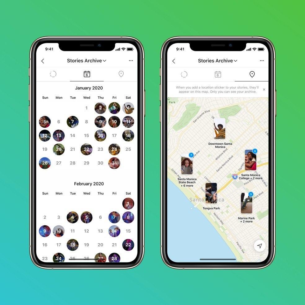 Mapa de Stories permitirá visualizar histórias tanto em um mapa quanto em um calendário