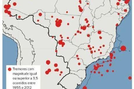 Pesquisador Marcelo Assumpção contabilizou tremores registrados no Brasil