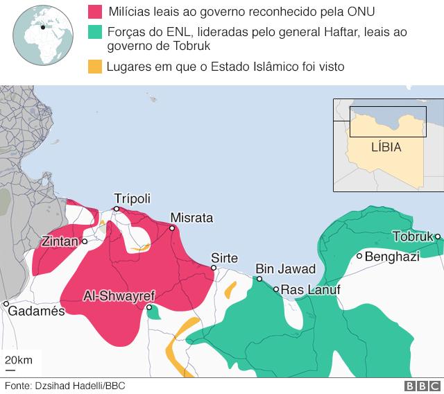 Ao menos 2.800 pessoas fugiram dos combates na região de Trípoli, capital da Líbia