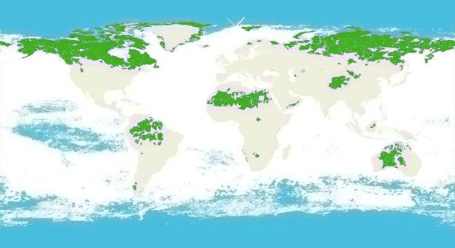 Austrália, Brasil, Canadá, EUA e Rússia são os cinco países que abrigam a maior área de natureza intacta no mundo