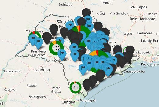 Portal informa distribuição de kits e bloqueios em rodovias do estado