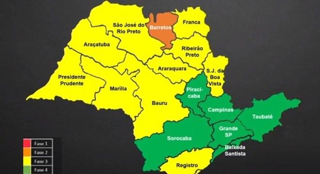 Grande SP e mais cinco regiões passam para a fase 4 verde do Plano SP
