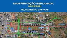 Brasília terá esquema especial de segurança para o 7 de Setembro