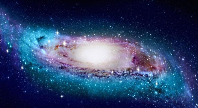 O mapa 'em forma de S deformado' foi elaborado com base em informações de mais de 1,3 mil estrelas