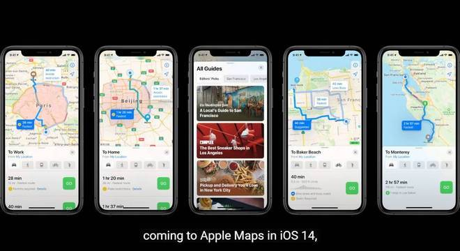 Mapas agora indicara os caminhos para quem tem carro elétrico