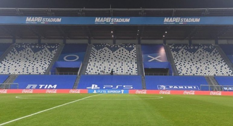 O Mapei Stadium, infelizmente vazio, por causa da Covid-19