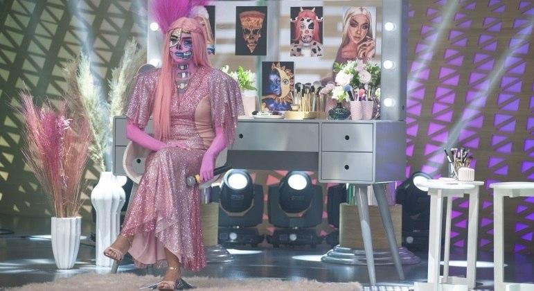 No Hora do Faro, artistas mostram efeitos impressionantes usando truques de maquiagem