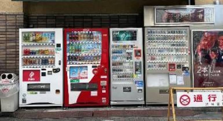 Máquinas automáticas para comprar bebidas
