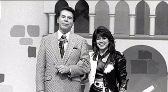 Apresentadora ganhou a atenção de Silvio quando trabalhava em uma TV na Bahia