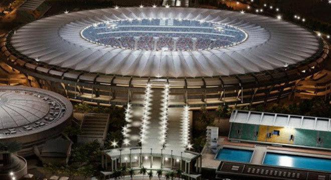 O Maracanã, sede da decisão de 2020