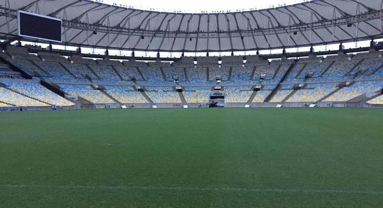 Maracanã estará vazio daqui a 24 dias. Na final da Libertadores