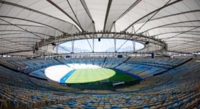 Maracanã é o principal estádio do futebol brasileiro