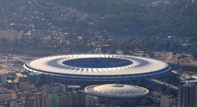 Maracanã após reforma para sediar Copa do Mundo de 2014