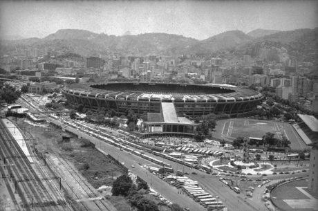 Maracanã na década de 70
