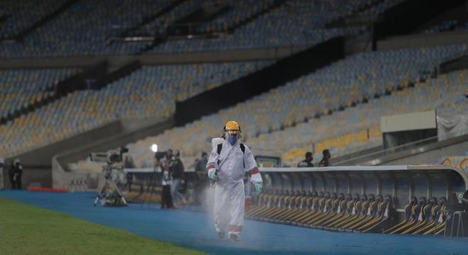 Jogos foram disputados em meio à desintoxicação dos estádios