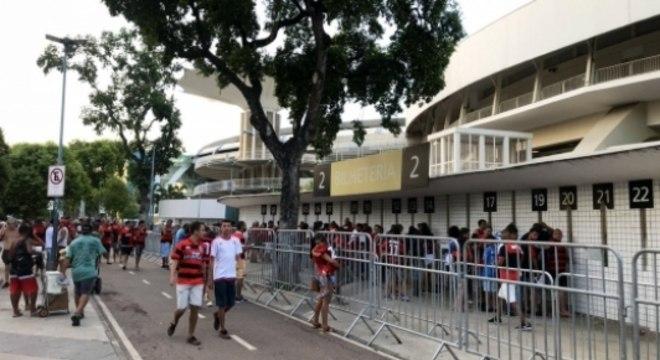 Maracanã - torcida do Flamengo