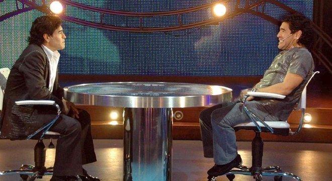 Maradona na sua melhor entrevista. A ele mesmo. A coragem de assumir sua vida