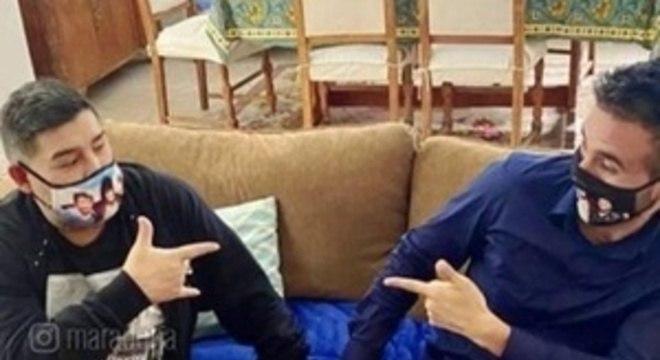 Relação era de muita proximidade entre Maradona e o neurocirurgião Luque