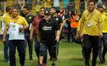 Maradona treinou o Deportivo Mandiyú (2004), Racing Club (1995),Al Wasl (2011-2012) e Al Fujairah (2017-2018)dos Emirados Árabes Unidos, e Dorados de Sinaloa mexicanos (2018-2019)