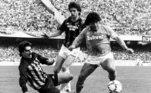 """'Nãoposso pedir mais da vida"""", afirmou Maradona. Ele participou de quatro Copas do Mundo (Espanha 1982, México1986, Itália 1990 e Estados Unidos 1994 - banido por doping), é o grande ídolo do Boca Juniors e do Napoli, na Itália, quando conquistou dois títulos nacionais"""
