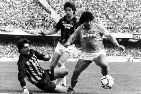 Maradona mostrou para o mundo seu jeito intempestivo