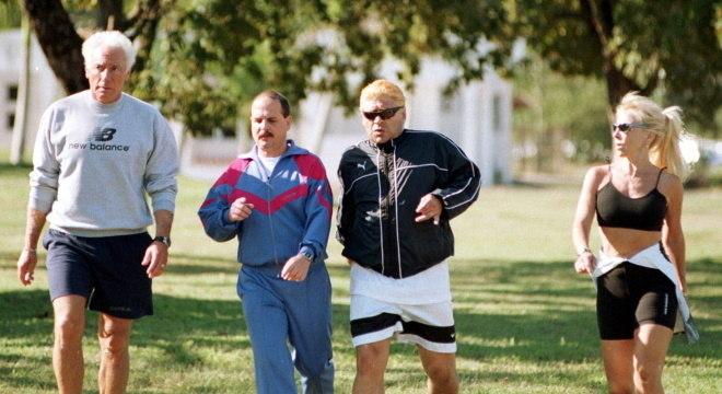 Maradona foi para Cuba para fazer cirurgia bariátrica