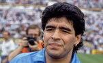 Diego Maradona completa 60 anos nesta sexta-feira (30). Considerado um dos maiores jogadores de todos os tempos, o ex-camisa 10 recebeu diversas mensagens nas redes sociais. Confira!A rede social da Liga dos Campeões postou uma foto com uma mensagem de parabéns para o astro
