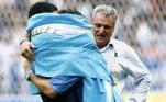 Outro grande craque da Argentina, Riquelme disse: