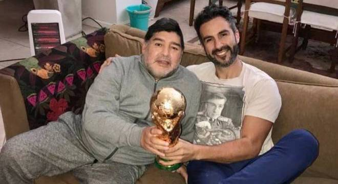 Maradona e médico Leopoldo Luque eram amigos