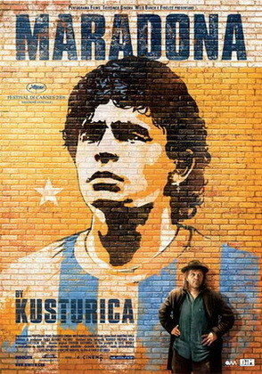 MARADONA BY KUSTURICA (2009) - Rodado pelo sérvio Emir Kusturica, o documentário traz os momentos do craque em campo e seus problemas com as drogas.
