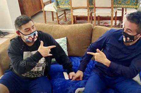 Maradona agradece ao médico Leopoldo Luque