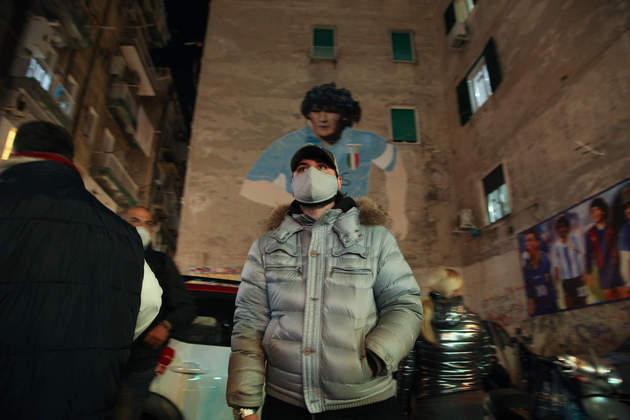 Maradona é o maior nome da história do Napoli.