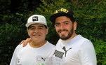 Na Itália, Maradona teve um filho com Cristiana Sinagra, Diego Maradona Junior. Os dois tinham um bom relacionamento