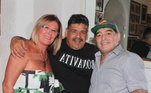 O único irmão de Maradona que não vive na Argentina é Hugo, que mora em Nápoles e é próximo de um dos filhos do argentino