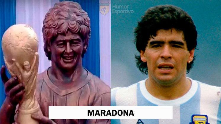 Maradona foi homenageado na Índia