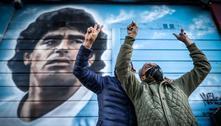 Argentina homenageia 35 anos do golaço de Maradona na Copa de 86