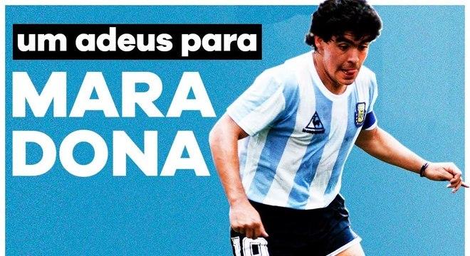 Maradona - O mundo do futebol se despede hoje de Diego Armando Maradona