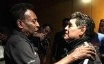 Maradona, Pelé