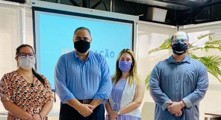 Maraelyse Araripe, Edson Ferreira, Nicolle Matos e Saveh