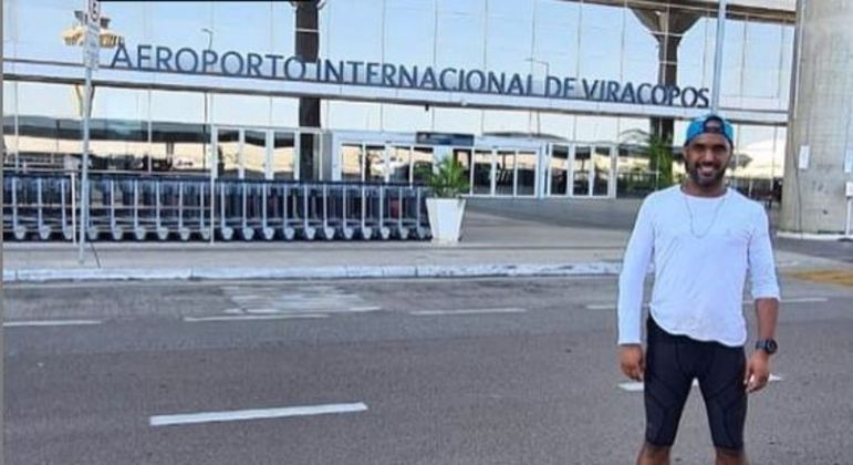 Após 100 km, Júnior foi do Aeroporto de Congonhas até o Aeroporto Internacional de Viracopos